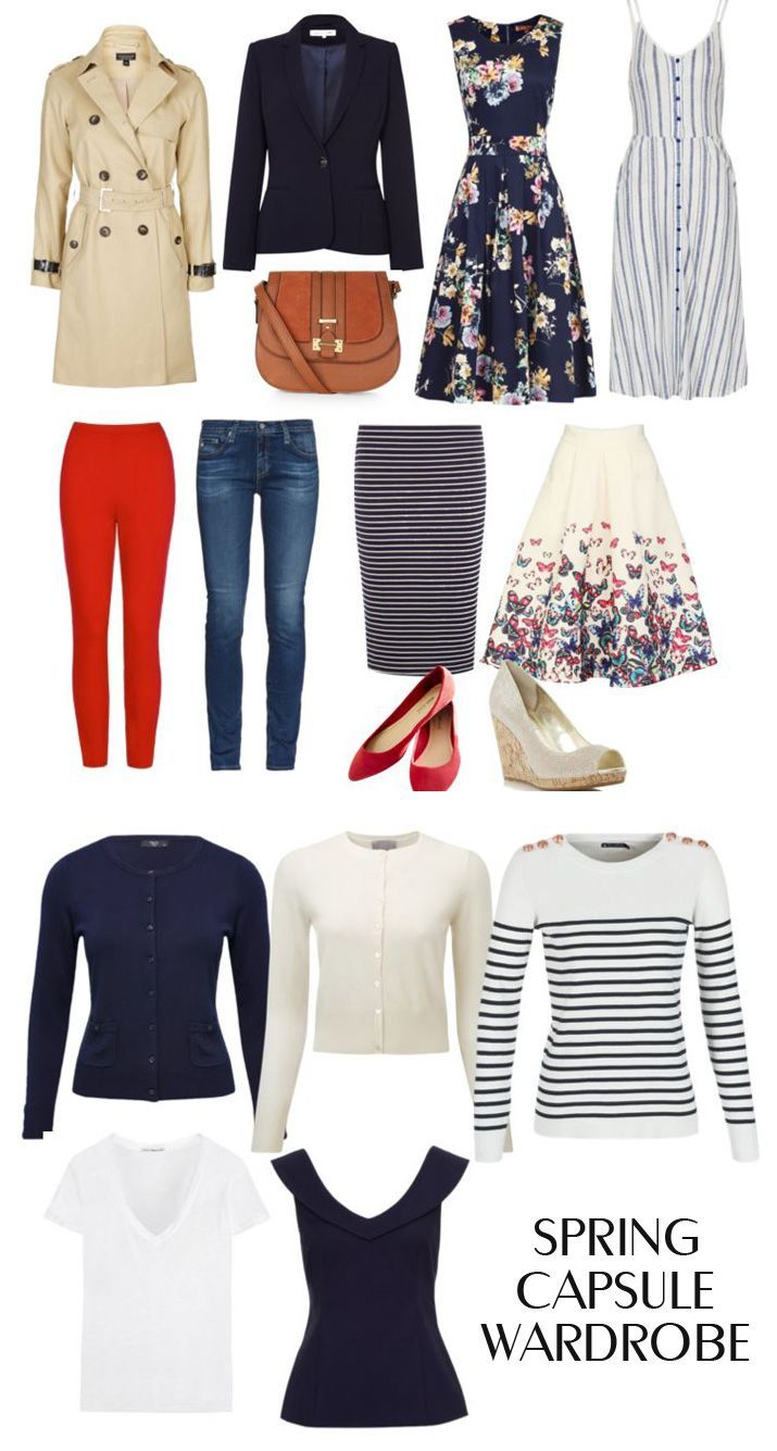 Classic Capsule Wardrobe For Spring 2016 > Women's