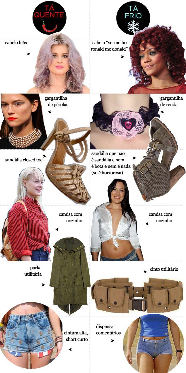 tá quente / tá frio: closed toe, cor de cabelo, militarismo... - Juliana e a Moda | Dicas de moda e beleza por Juliana Ali