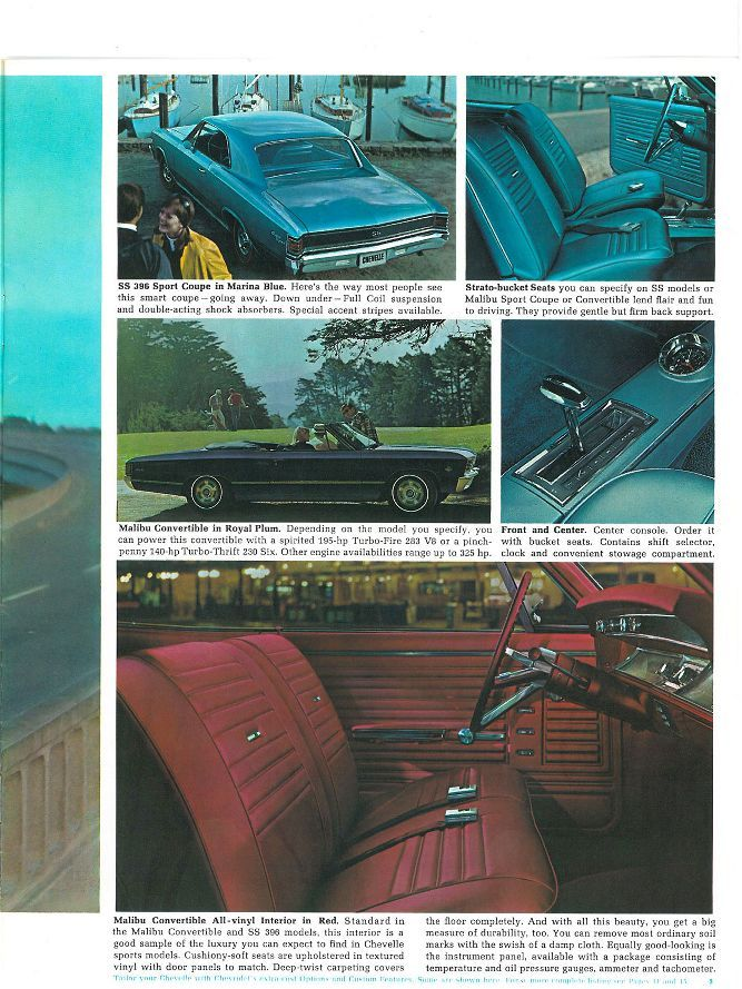 Take A Peek Inside The 67 Chevelle Malibu Sales Brochure Super Chevy Magazine Super Chevy Magazine Chevelle Chevrolet Chevelle Malibu