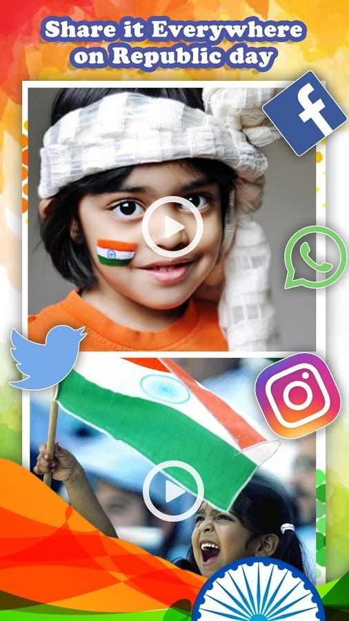 2017 Republic Day Video Maker v 1 2 Free Android App latest