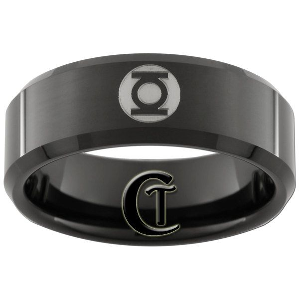 green lantern wedding ring id marry a woman who would let me have this as my wedding band - Green Lantern Wedding Ring