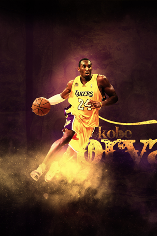 Los Angeles Lakers Kobe Bryant Android Wallpaper HD