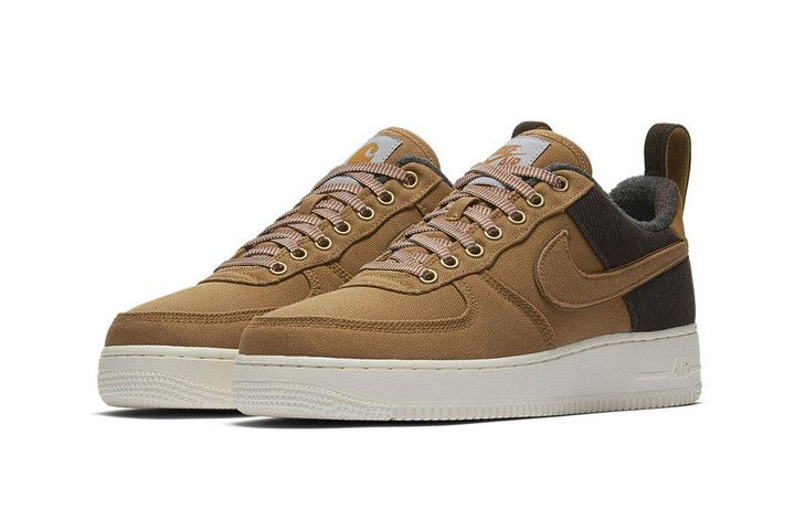 afedb01dd7 An Official Look at the Carhartt WIP x Nike Air Force 1 | Air force ...