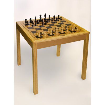 Sterling Games 3 In 1 Chess Table   4280