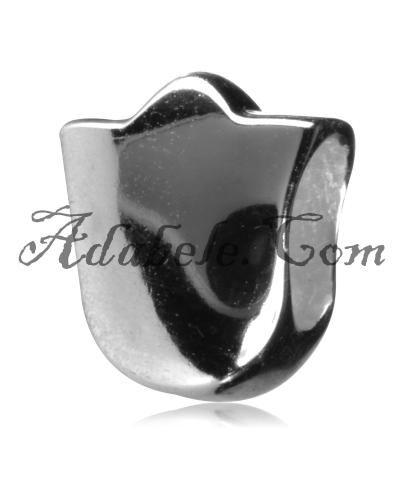 This beautiful protection shield .925 Sterling Silver European charm fits Pandora, Biagi Trollbeads, Chamilia, and most charm bracelets find out more at adabele.com