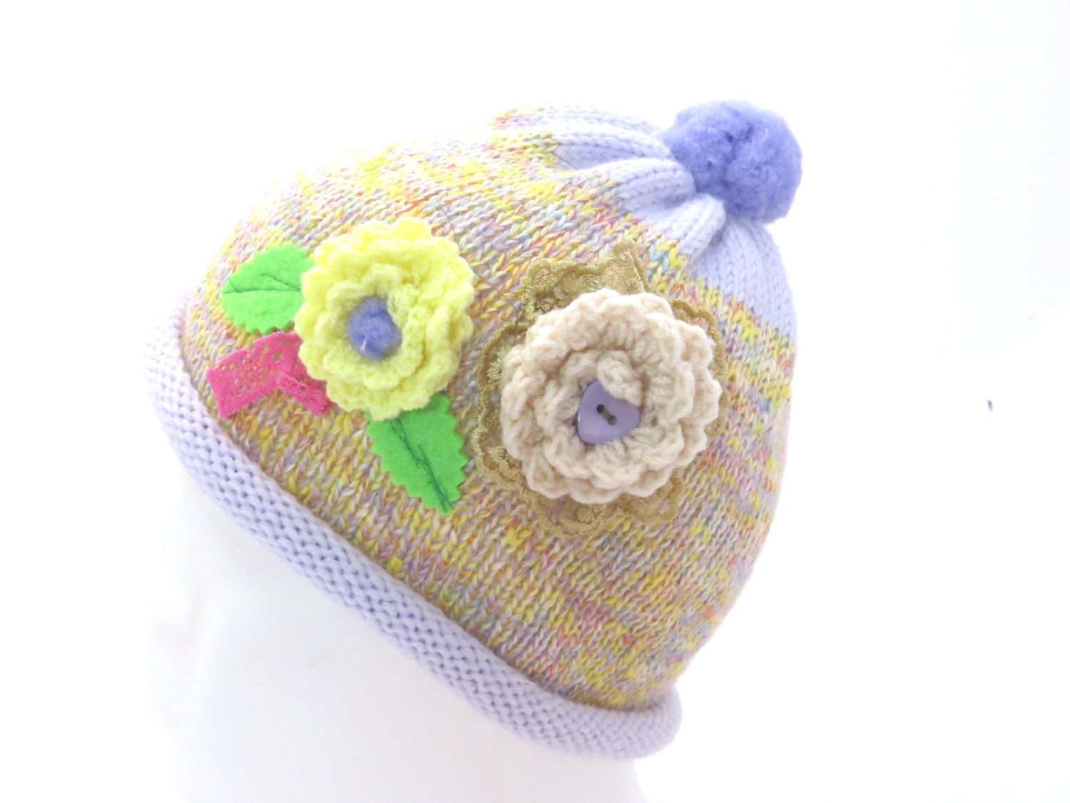 baby knitted Hat.Winter Hat.baby shower. 6-12month baby girl.baby ... 709b361555e2