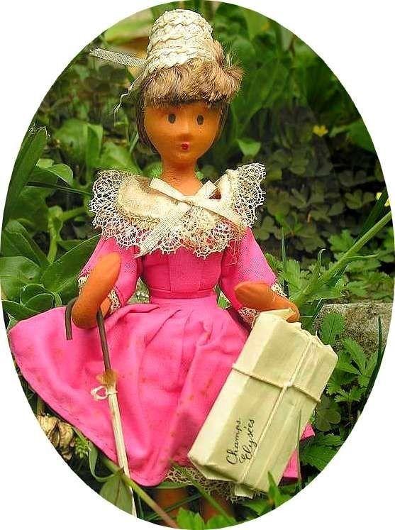 Les poupées Peynet ... - Album photos - Au Fil du Lin et Coton (Linge ancien & Mercerie d'autrefois)