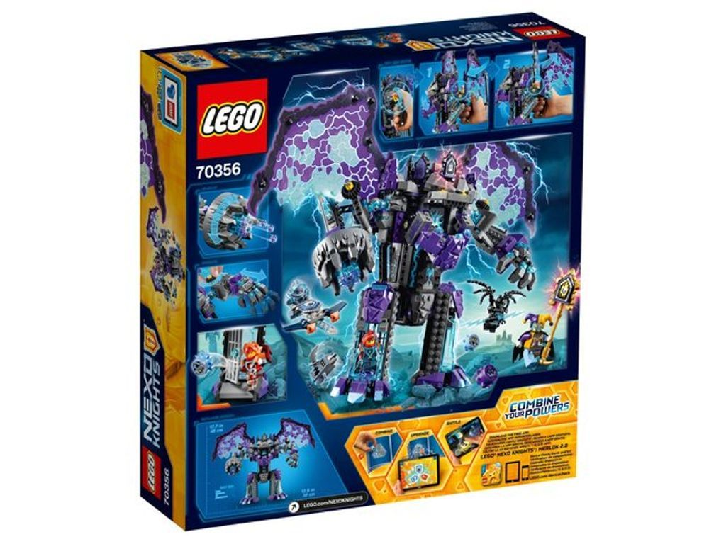Nexo Knights the Stone Colossus of Ultimate Destruction 70356 Building