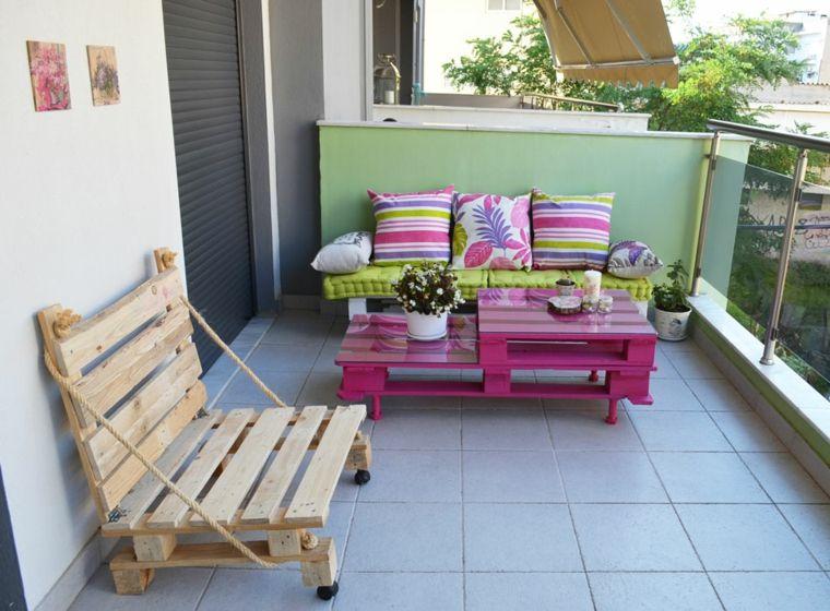 Decorar terrazas barato ideas de bricolaje y jardiner a mi jardin mesas con palets Decorar terrazas barato