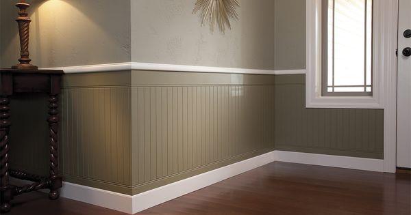 Liked On Pinterest Raised Panel Wood Wall Paneling Wall Panelling Wood Wall Panels Painted Chelms Paneling Makeover White Wood Paneling Wood Paneling Makeover