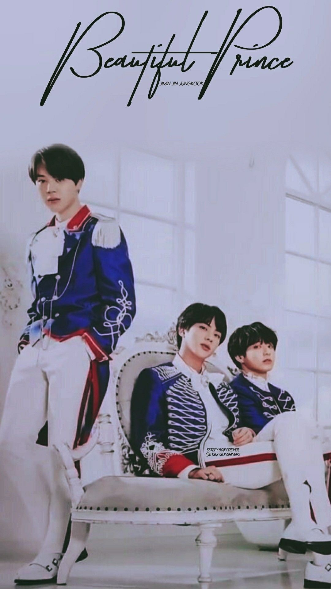 Jimin Jin Jungkook Fancafe Lockscreen Wallpapers - Year of