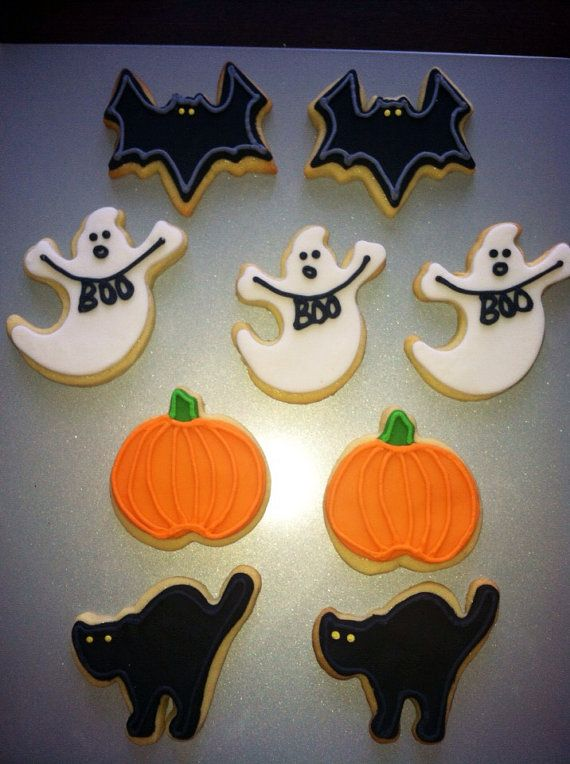 Halloween Cookies #halloweensugarcookies