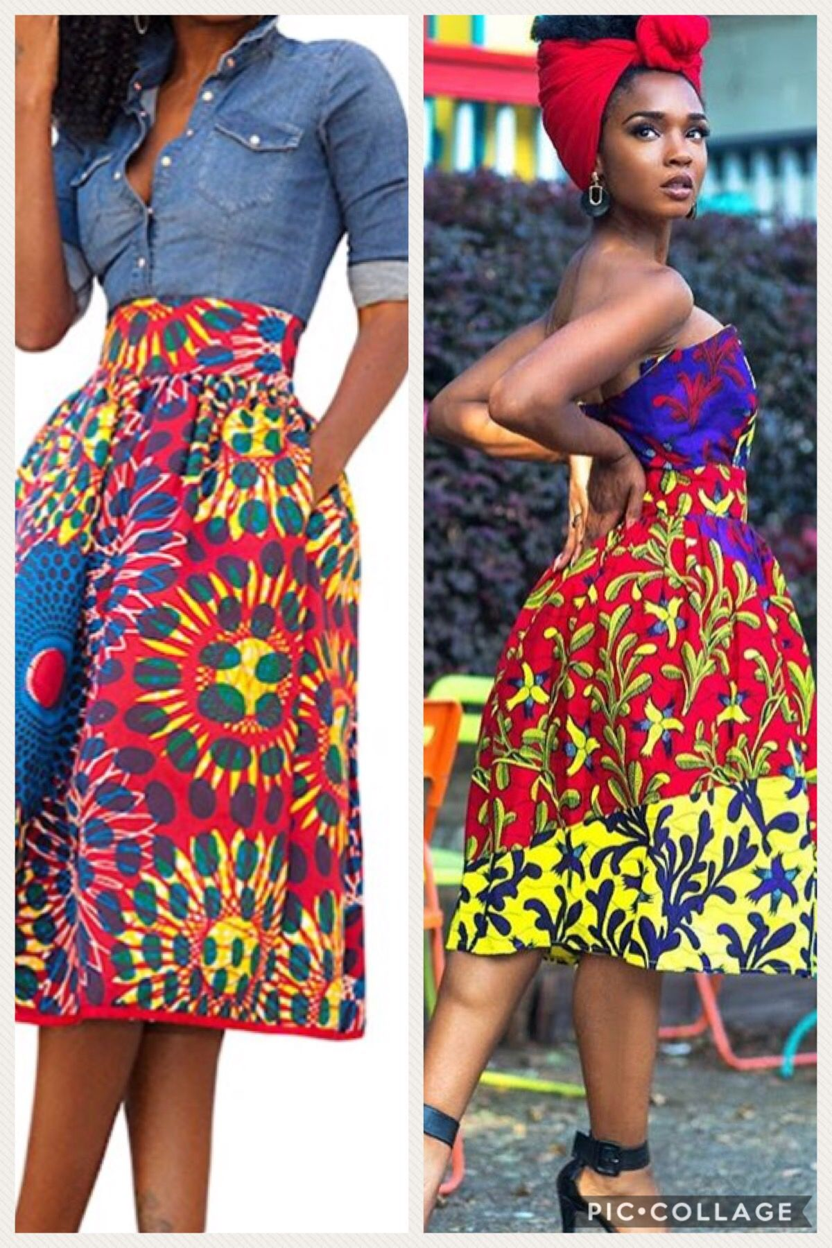 d2c2d89125 African style skirt phone on Amazon Amazon affiliate | Ankara mix ...