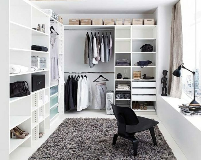 comment am nager un dressing pratique et ranger les v tements avec style dressing chambre. Black Bedroom Furniture Sets. Home Design Ideas