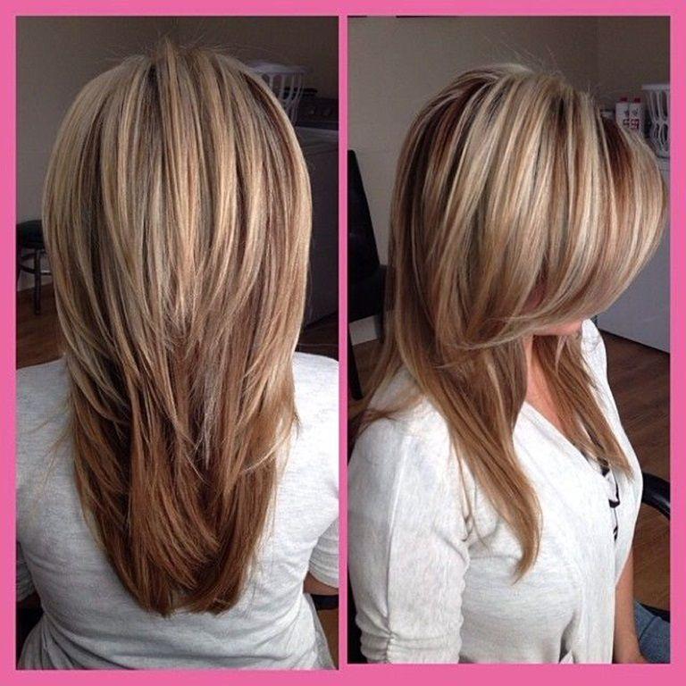 V Schnitt Für Lange Haare Für Haare Lange Schnitt Frisuren