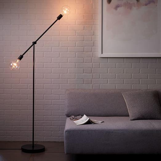 Mobile Floor Lamp West Elm