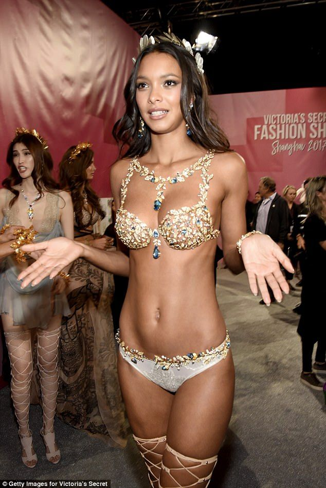 b89afcc0b0 Iconic  She got to wear the Fantasy Bra at this year s Victoria s Secret  Fashion Show when.