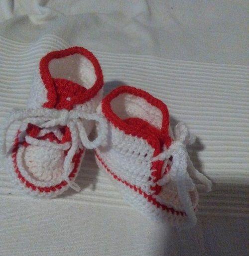 Horgolt bébicipő Kötés HorgolásKötés – Horgolás