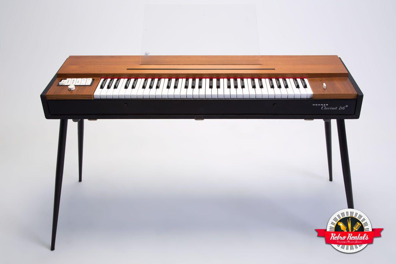hohner clavinet d6 vintage keyboard