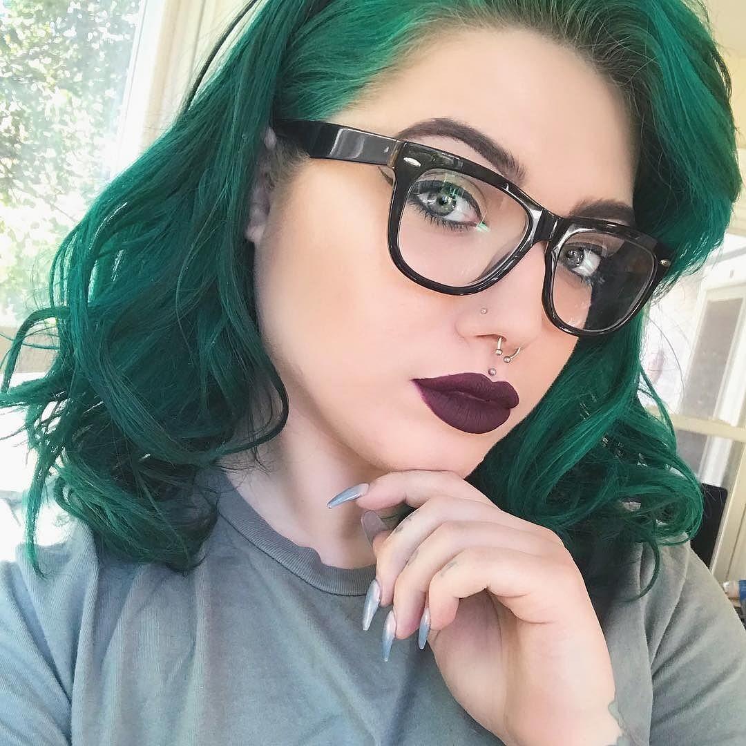 Minus the hair hair colours pinterest hair coloring green