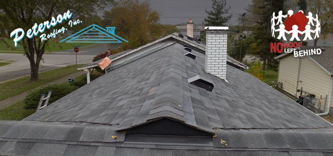 Peterson Roofing Leaves No Roof Behind With Vista Polymer Modified Roofingshingles From Malarkeyroofing Products Roof Shingles Roofing Roof Installation
