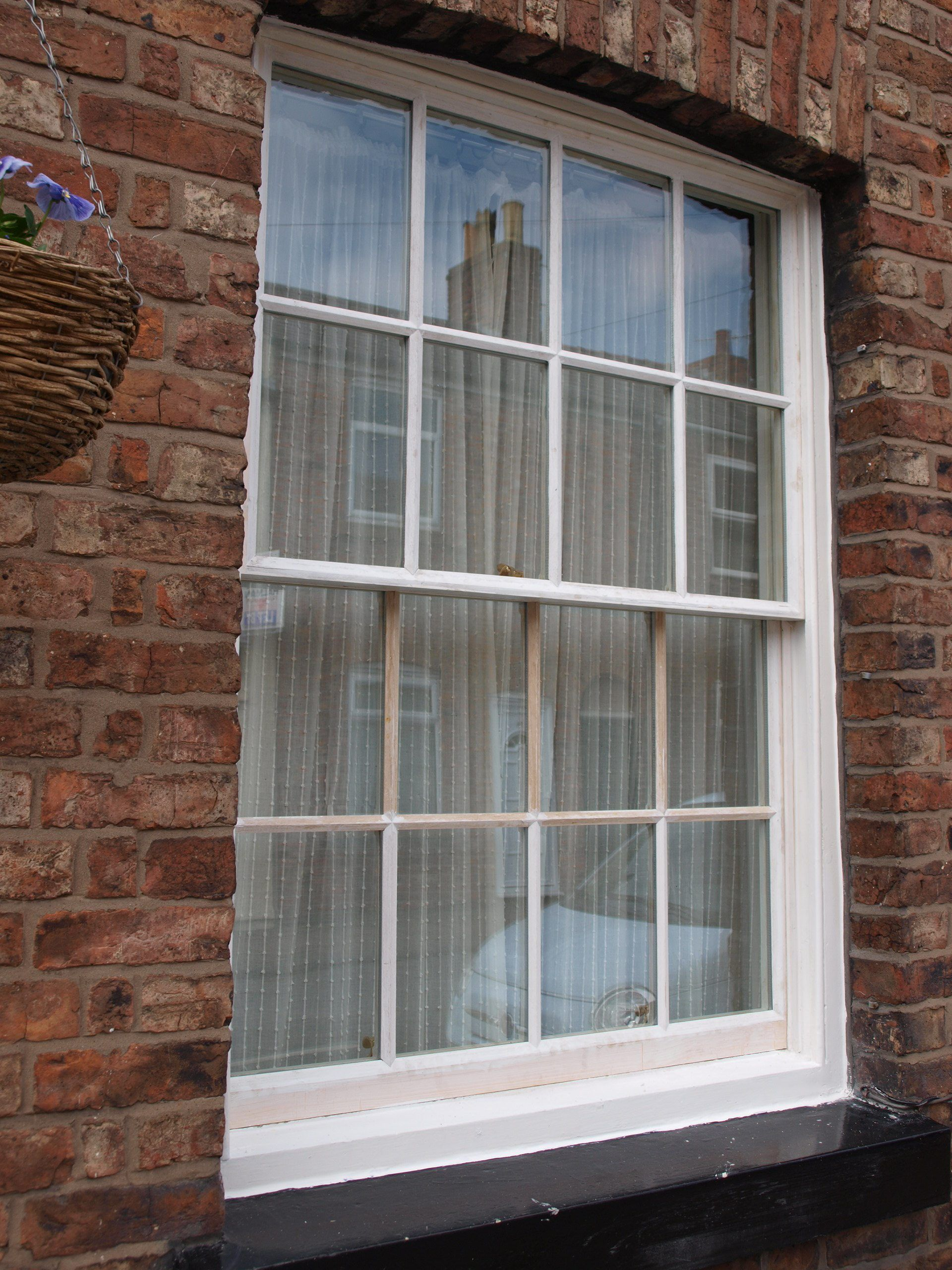Georgian bar double glazed sash window replacement for Double glazing manufacturers