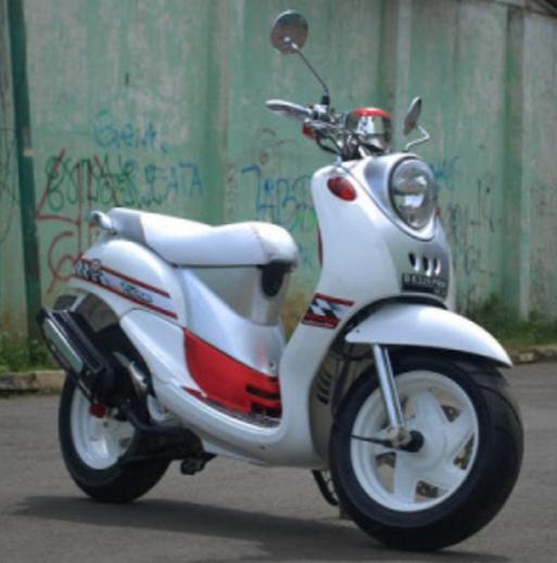 Modifikasi Motor Fino Simple