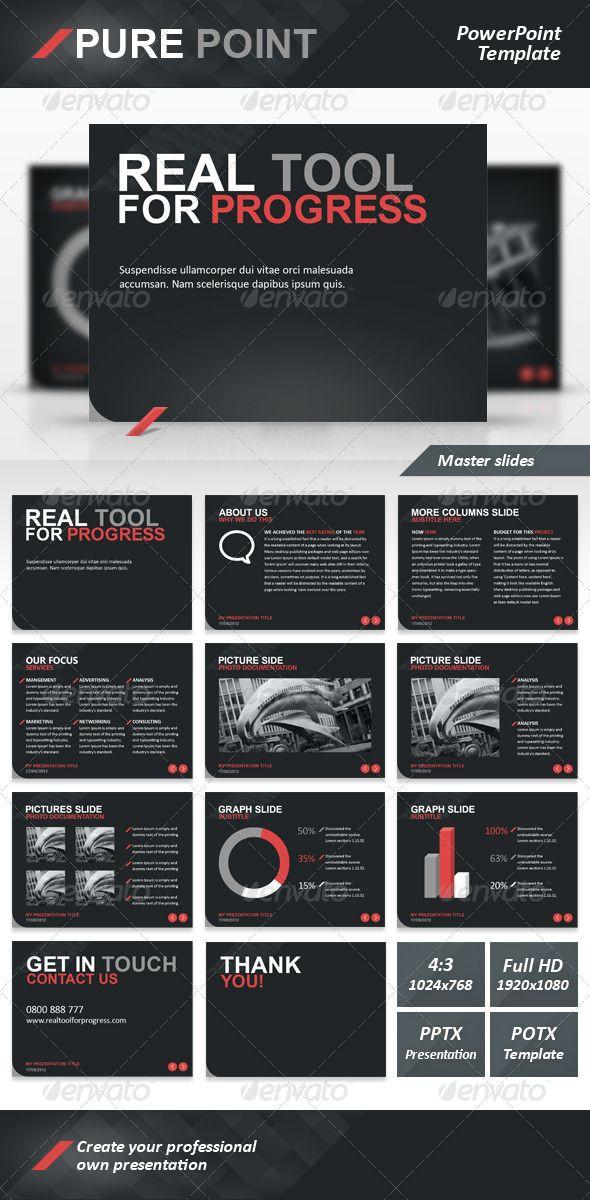 Pure point powerpoint template toneelgroepblik Images