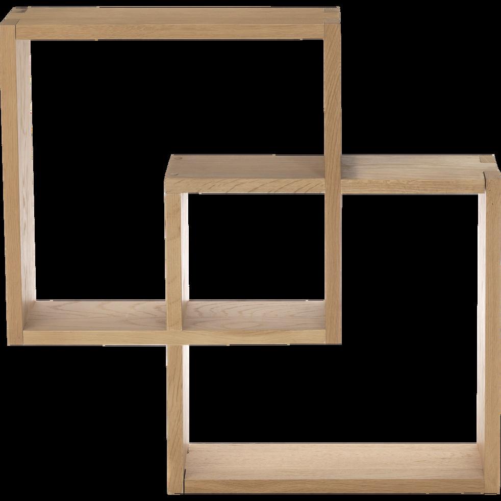 Etagere Cube Murale En Chene Tassia Etagere Murale Etagere Cube Murale Etagere Cube Parement Mural