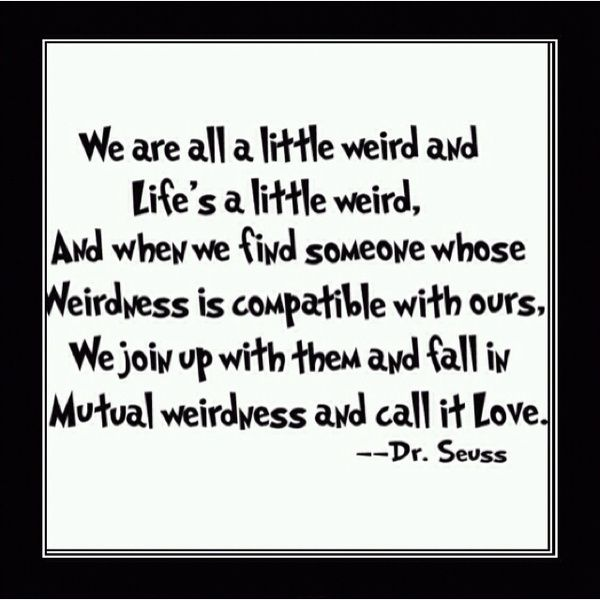 I was liking this until I saw de Seuss. Then i loved it