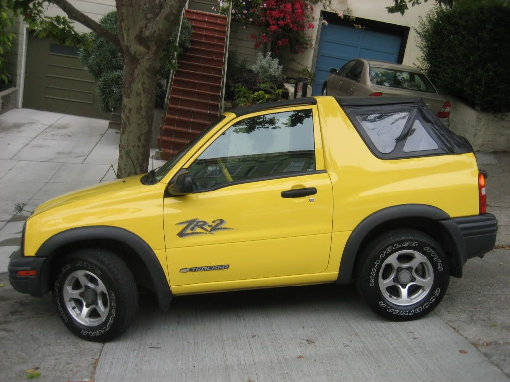 chevy tracker convertible my future car suv 4x4 off roaders car camper  [ 1024 x 768 Pixel ]