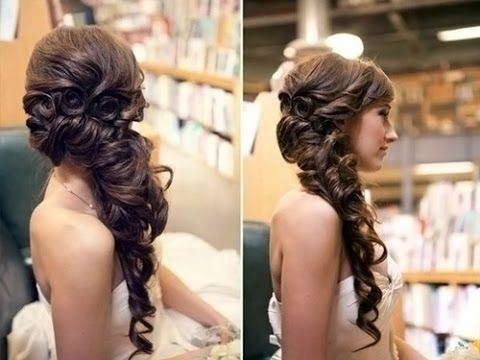 Frisuren lange haare zur seite