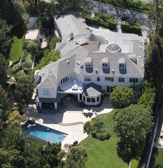 singer robbie williams la - Robin Williams Houses
