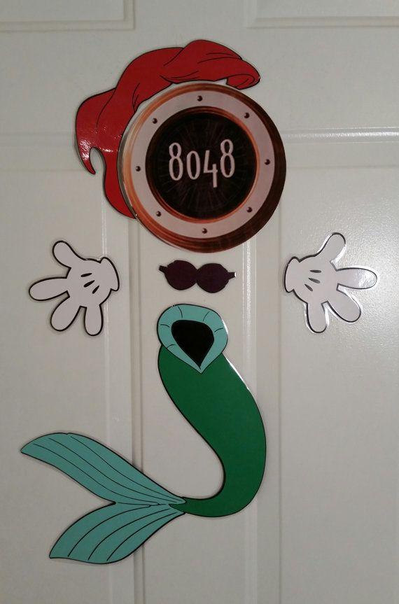 Princess Ariel Mermaid Minnie Mouse Body Part Stateroom
