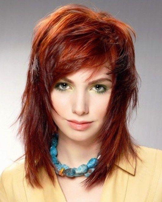 Choppy Medium Length Hair Hairstyles For Natural Care
