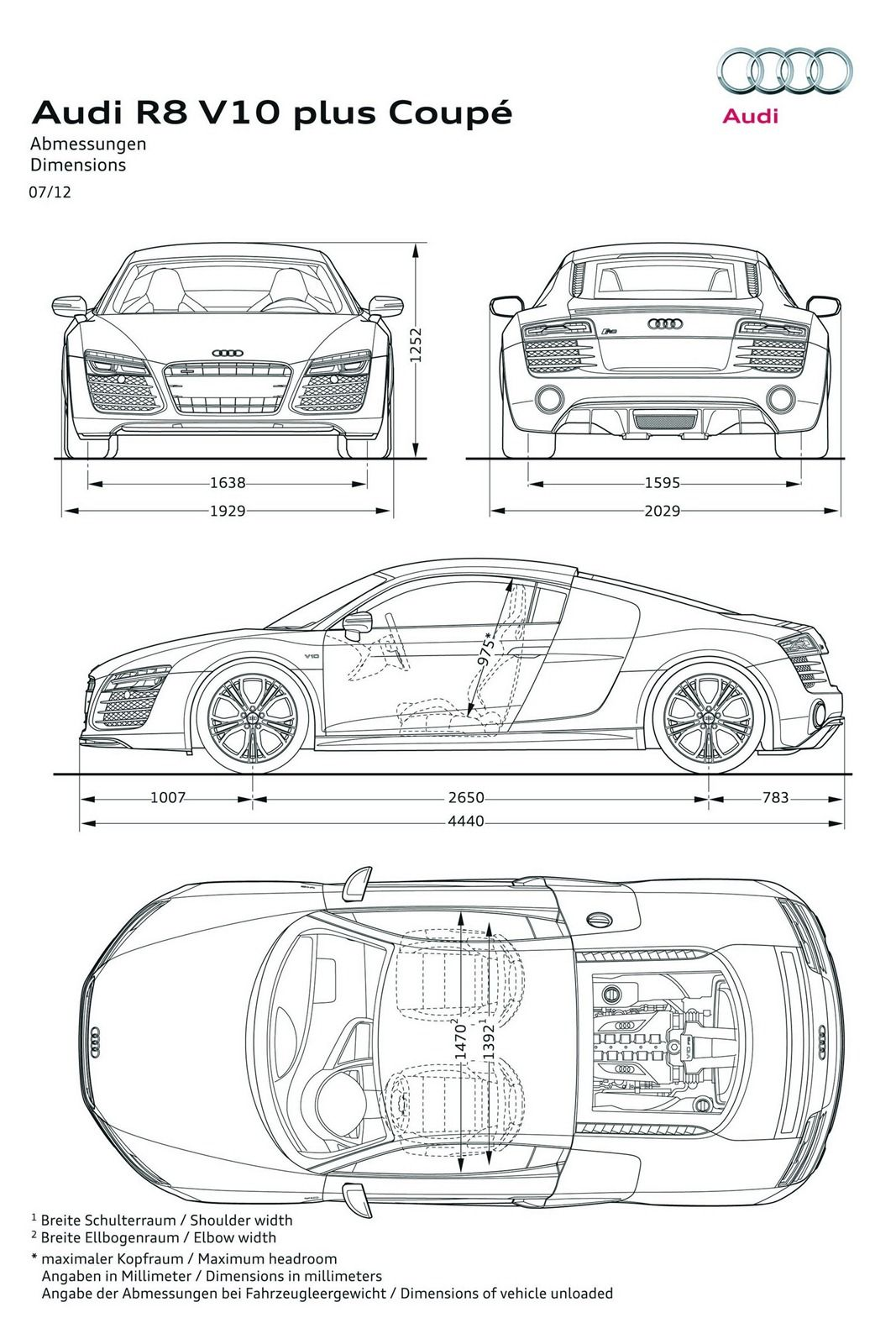Audi Reveals 2013 R8 Facelift Debuts New 7 Speed S Tronic And