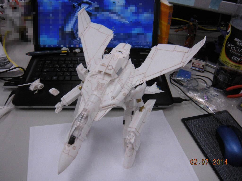 1 60 Perfect Transformation Macross Zero VF 0D Exclusive Preview Official