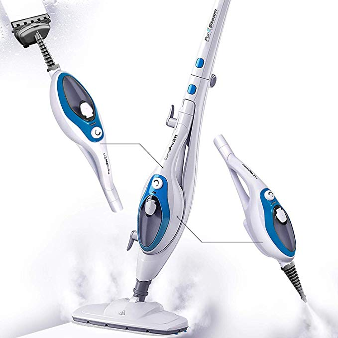 Steam Mop Cleaner ThermaPro 10-in-1 System Laminate//Hardwood Floor Steam