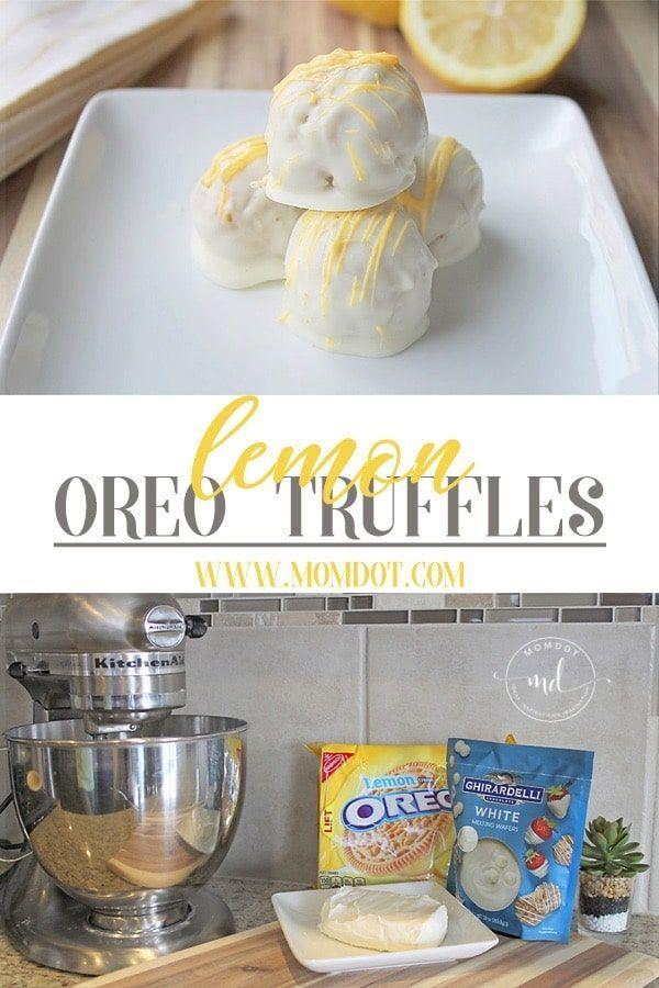 Lemon Oreo Truffles: How to Make This Delicious Dessert!