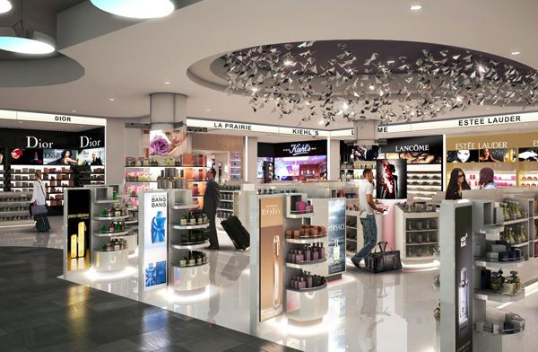 Duty Free Shop Render More