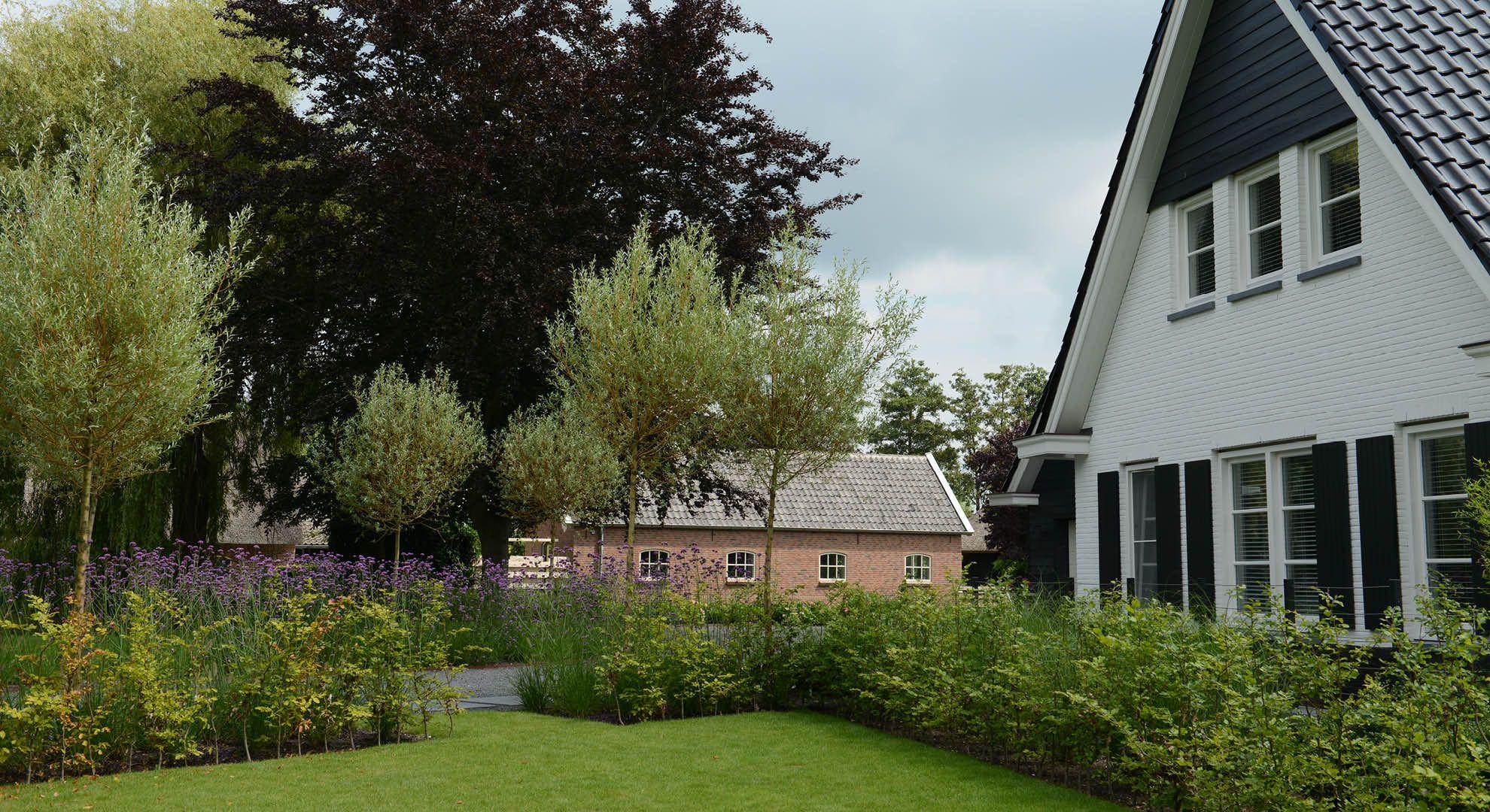 Rodenburg tuinen landelijke tuin bij modern landhuis de