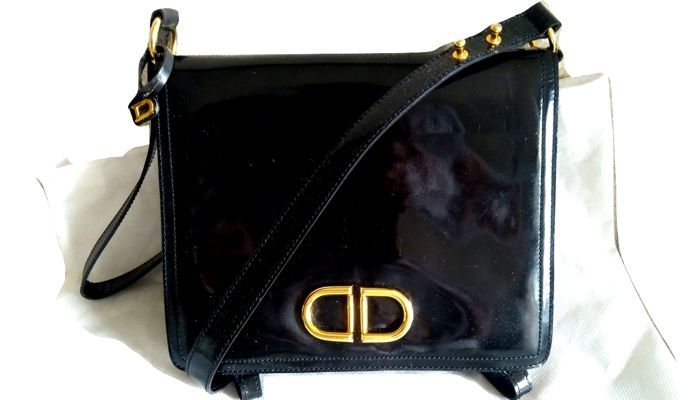 5c26eea8dc0781 Currently at the #Catawiki auctions: Delvaux - Iconic Double D bag-Limited  Edition Shoulder bag - Vintage
