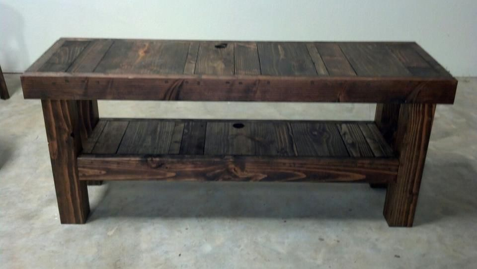 hand built solid wood tv stand console table from james james furniture. Black Bedroom Furniture Sets. Home Design Ideas