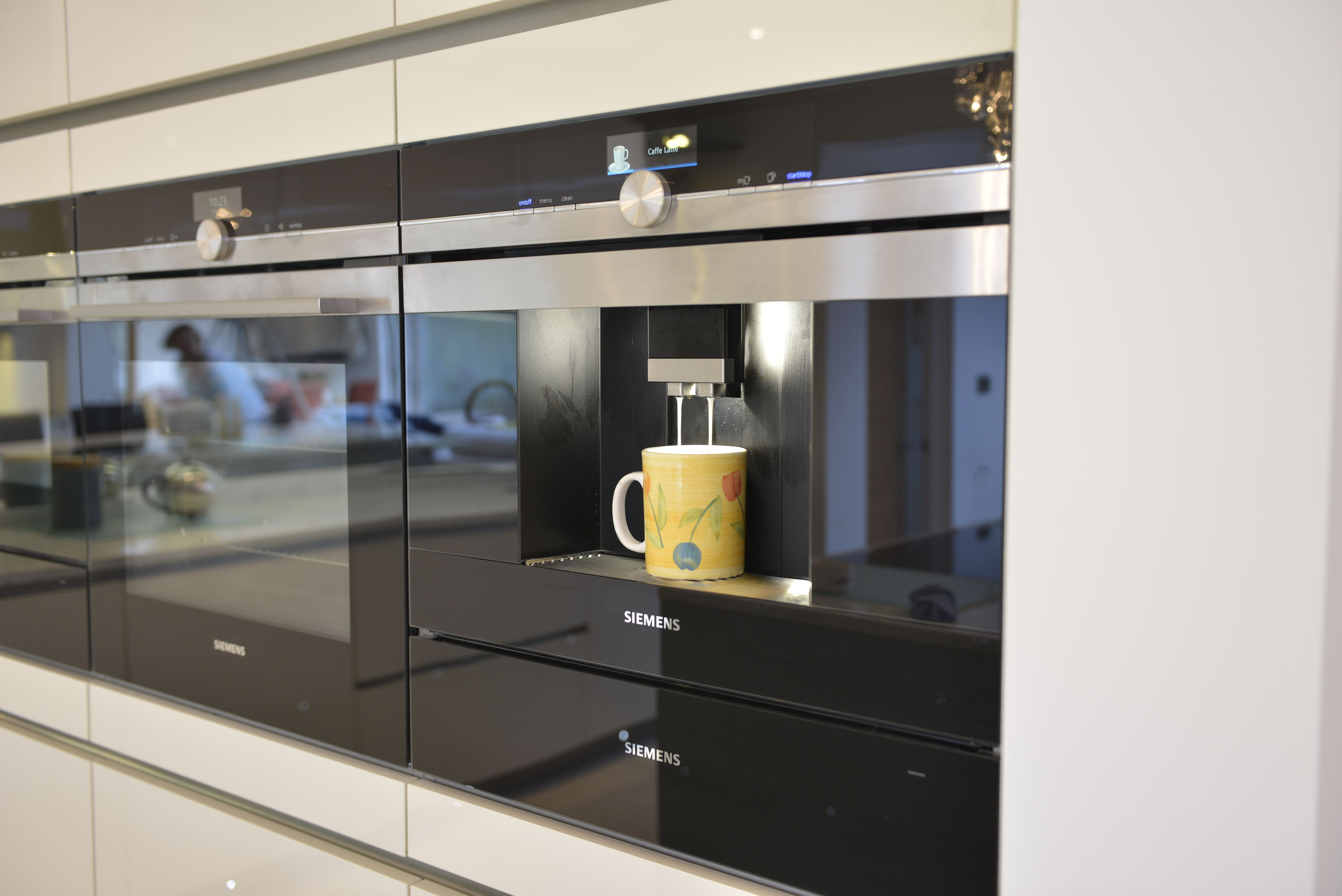 Siemens Coffee Machine Kitchen Appliances Kent Designer
