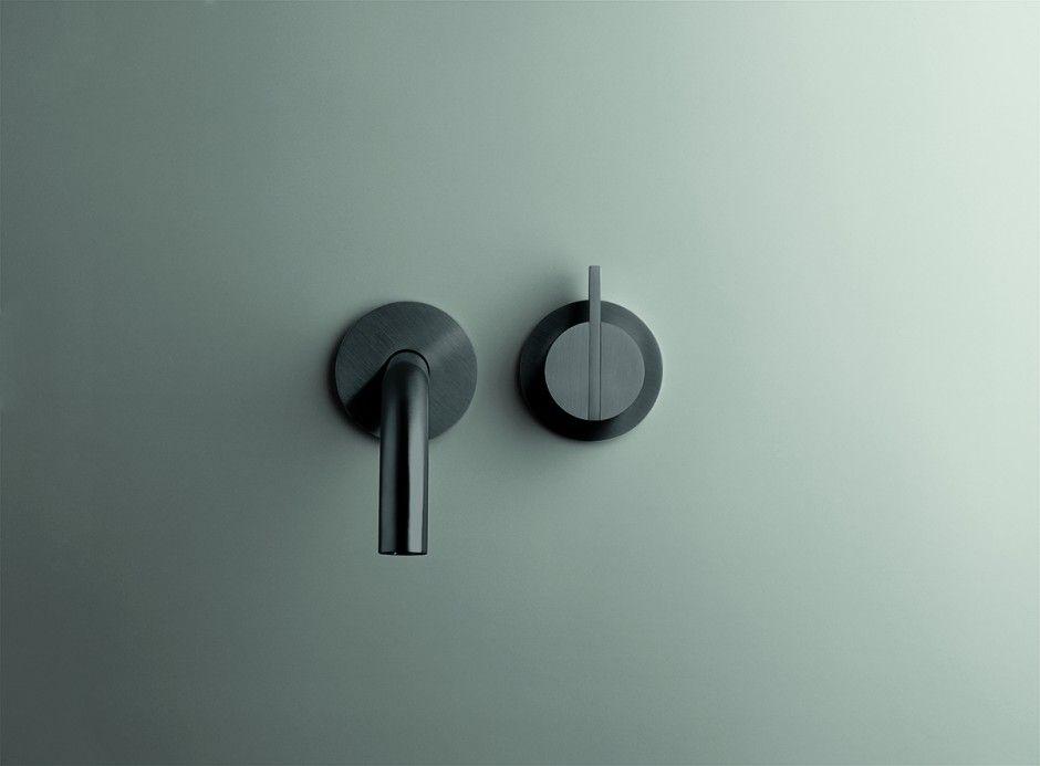 Rustieke Badkamer Kranen : Piet boon by cocoon rvs designkranen set in brushed stainless steel