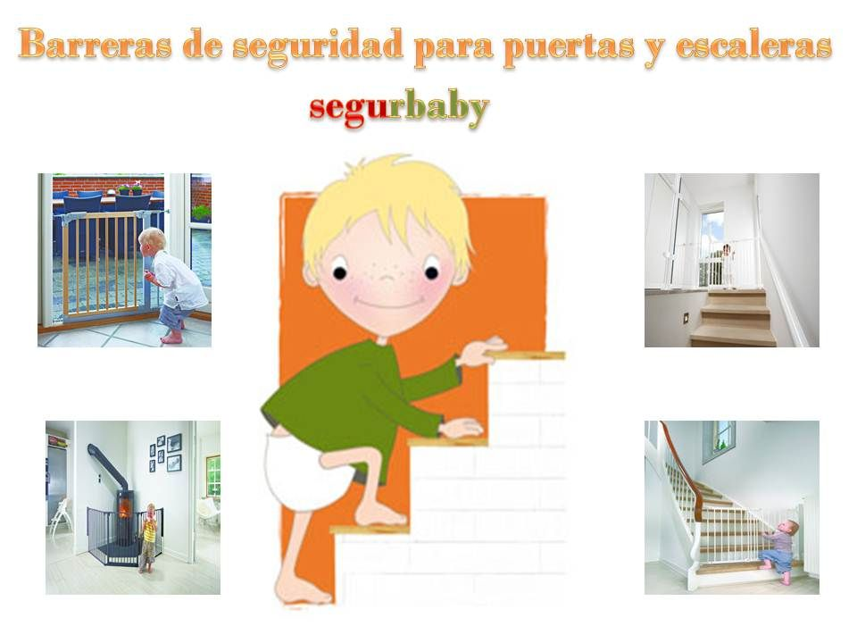 Segurbaby especialista en barreras de seguridad infantil para puertas y escaleras barreras - Barreras seguridad escaleras ...