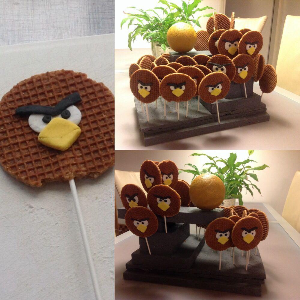 Angry Birds stroopwafel traktatie Check http//www