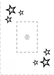 Print Off This Activity To See Christmas Card Craft Templates With A