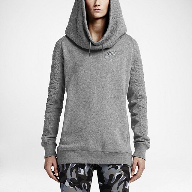 Nike Quilted Rally Women's Hoodie.