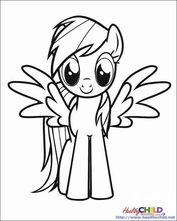 My little Pony Coloring Pages - HealthyChild.net | My little pony ...